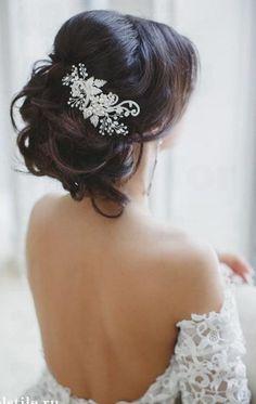 39 Chic Wedding Hair Updos for Elegant Brides   Wedding Decor Ideas