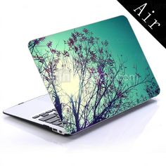 natursceneri design full-body beskyttende plastic tilfældet for 11-tommer / 13 tommer nye MacBook Air 2015 – €151.00