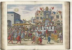 Welkomst in de stad, 1599, Pieter van der Borcht (I), Johannes Moretus (I), 1599