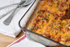 Cheesy Veggie Enchiladas ‹ Hello Healthy