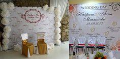 Как сделать свадьбу яркой и модной? Ответ прост: использовать интересные детали в оформлении помещения, где происходит торжество. Свадебный баннер фото зоны - вот то, что нужно для настоящего праздника!