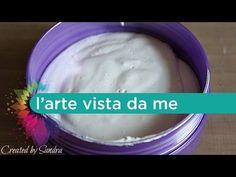 Gesso acrilico fai da te - Gesso homemade - Tutorial - Lartevistadame - YouTube