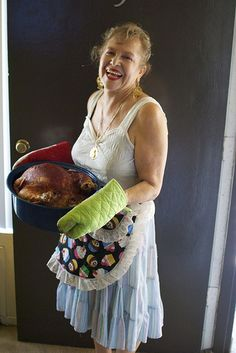 Thanksgiving Turkey, Adapted by a Zacatecana aka. my mom! For Sonic Trace KCRW.