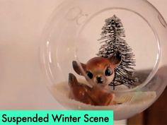 Floating Winter Scene, a DIY video by Meg