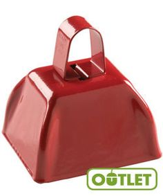 HayDay VBS | Cowbell | Get the attention of all your noisy farmhands with this clangy red cowbell. #VBS
