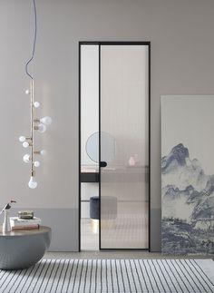 20 Glass Door Design Inspiration For Your Dream House 1 - homegrowmart Porte Design, Door Design, Arched Doors, Sliding Glass Door, Bathroom Interior Design, Interior Inspiration, Design Inspiration, Interior Architecture, Furniture Design