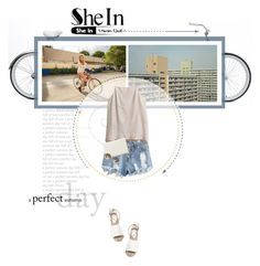 """Summer Day"" by twiluv18 ❤ liked on Polyvore featuring H&M, Nine West and Prada"