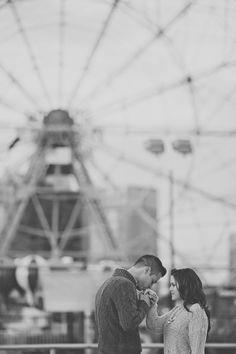 Ensaio fotográfico com um pedido de casamento! l photography Ellie Prada #newyork #coneyisland
