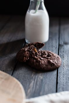 Cookies Chocolat & Cœur Caramel Fleur de Sel | Lilie Bakery