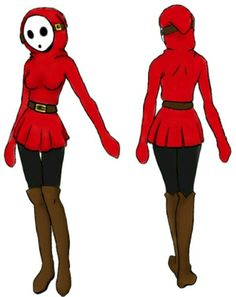 So This Is A Design I Made For A Shy Guy Gender Bend Aka Shy Girl If You Want To Use This As A Cosplay Reference Feel Free To Use It