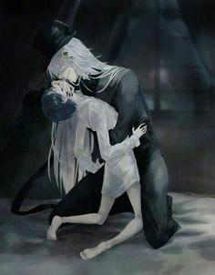 Black butler, Kuroshitsuji, Undertaker, Ciel Phantomhive