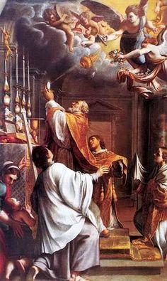 VADE RETRO SATANA:  La persona que oye la Santa Misa disgusta mucho a...