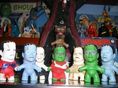 old monster toys