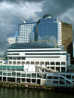 Canada Place & World Trade Centre, Vancouver, BC, Canada | by judy B, via Flickr