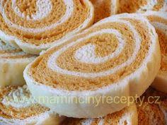 Dvoubarevné knedlíky Salty Foods, Gnocchi, Dumplings, Side Dishes, Recipies, Menu, Desserts, Europe, Recipes