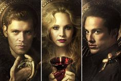 One of vampire diaries love triangles! my favorite one!