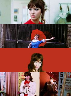 Une Femme Est une Femme (1961) Anna Karina, French Movies, Old Movies, Movie Shots, I Movie, Francois Truffaut, French New Wave, Jean Luc Godard, Film Aesthetic