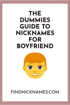 Nicknames with cute names baby