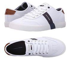 White Sneakers, Men Fashion, Givenchy, Trainers, Tommy Hilfiger, Kicks, Menswear, Footwear, Flats