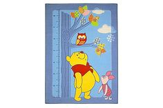 Tappeto Disney di Winnie The Pooh 1