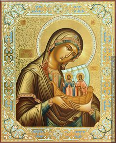 Religious Icons, Religious Art, Orthodox Icons, Mother Mary, Kirchen, Virgin Mary, Our Lady, Leaf Design, Costumes