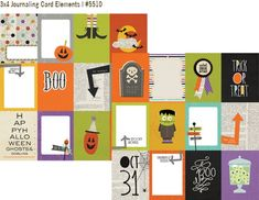 Simple Stories Frankie and Friends Check out the whole collection on the Simple Stories blog, the brads, papers, chipboard and letter stickers are my favorite...it just may be your new #1 Halloween line, lots to love!