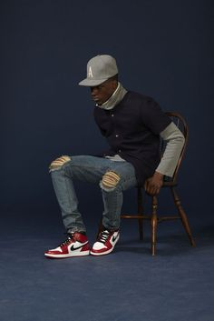 """"""" Teddy Santis peppers the phrase into just about everything as we look over the newest collection, now Black Men Street Fashion, Mens Fashion, Fashion Outfits, Outfits Fo, Nyc Fashion, Fashion Design, Chicago Outfit, Aime Leon Dore, Men's Fashion Brands"""