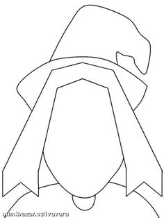 Make a Witch Coloring Sheet ~Via Darcy Koski Halloween Arts And Crafts, Theme Halloween, Halloween Clipart, Halloween Activities, Holidays Halloween, Scary Halloween, Vintage Halloween, Halloween Decorations, Halloween Silhouettes