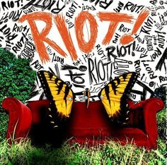Paramore ACOMBINATION OF PARAMORE'S FIRST ALBUM-ALL WE KNOW IS FALLING- THIER SECOND ALBUM-RIOT- AND THIER THIRD ALBUM-BRAND NEW EYES
