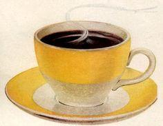 Nice yellow coffee cup