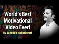 World's Best Motivational Video – By Sandeep Maheshwari I Hindi Motivational Videos For Success, Best Motivational Speakers, Motivational Videos Youtube, Motivational Speeches, Inspirational Videos, Mind Power Quotes, Sandeep Maheshwari Quotes, Negative Thinking, Morning Motivation