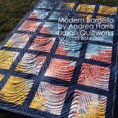 Modern Bargello Quilt « Moda Bake Shop