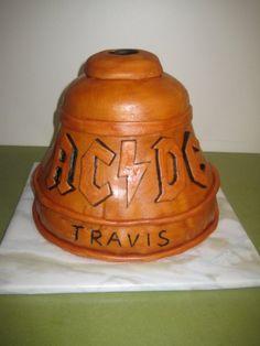 AC/DC Hell's Bells cake