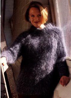 mistress Angora sweater fetish