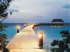 You can feel the romantic atmosphere the moment you arrive at Cocoa Island by COMO.