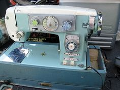 Vintage Japanese 'Badged' sewing machine with fancy stitches - Page 2
