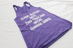 Pin for Later: 33 Pieces of Disney Workout Gear That'll Get You Pumped . . . Princess Style  Glass Slippers Workout Tank ($20)