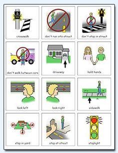 Pedestrian safety visuals