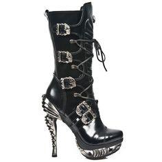MMAG006-C2 High Heeled Ladies New Rock Boots  - £199.99