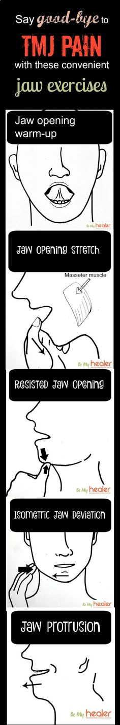 Say good-bye to TMJ pain with these 5 convenient jaw exercises bemyhealer.com/...