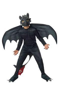 Drachen zähmen leicht gemacht Ohnezahn Kostüm für Kinder, Größe:M