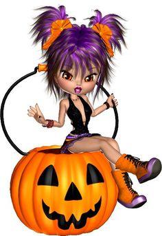 tubes halloween enfants cookies - Page 31 Barbie Halloween, Halloween Cartoons, Halloween Clipart, Easy Halloween Crafts, Halloween Pictures, Scary Halloween, Happy Halloween, Halloween Decorations, Reborn Toddler Girl