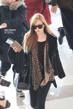 Jessica - Airport style