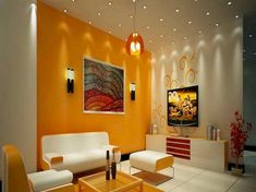 Living Room Color Combination, Living Room Color Schemes, Paint Colors For Living Room, Living Room Designs, Living Rooms, Colour Schemes, Colorful Interior Design, Interior House Colors, Home Interior