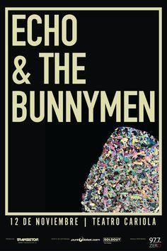 Echo & The Bunnymen - 12 de noviembre - Teatro Cariola