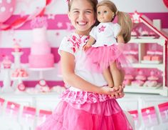 "American Girl / Birthday ""American Girl Inspired Party"" 