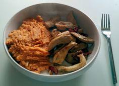 Dans Food Blog: Orange Chicken and Sweet Poato Mash