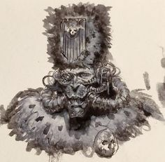 A center for all things Warhammer Age of Sigmar, and more! All facets of the hobby are welcome. Warhammer 40k Art, Warhammer Fantasy, The Grim, Alien Logo, Rogues, My Images, Art Reference, Character Design, Lion Sculpture