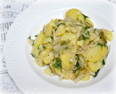 Lehký bramborový salát Potato Salad, Salads, Food And Drink, Cooking Recipes, Potatoes, Ethnic Recipes, Salad, Potato