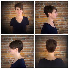 Hair cut by Celeste